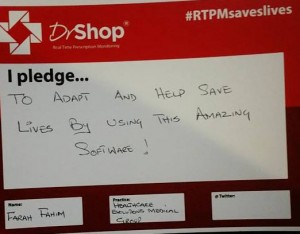 The #RTPMsaveslives post competition was designed to raise awareness of prescription medicine addiction.